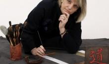 Sonia Stella, peintre sumi-é