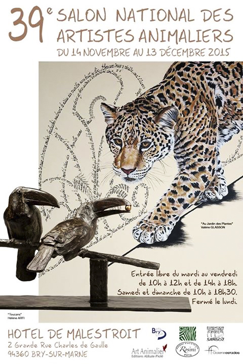 affiche_salon_art_animalier