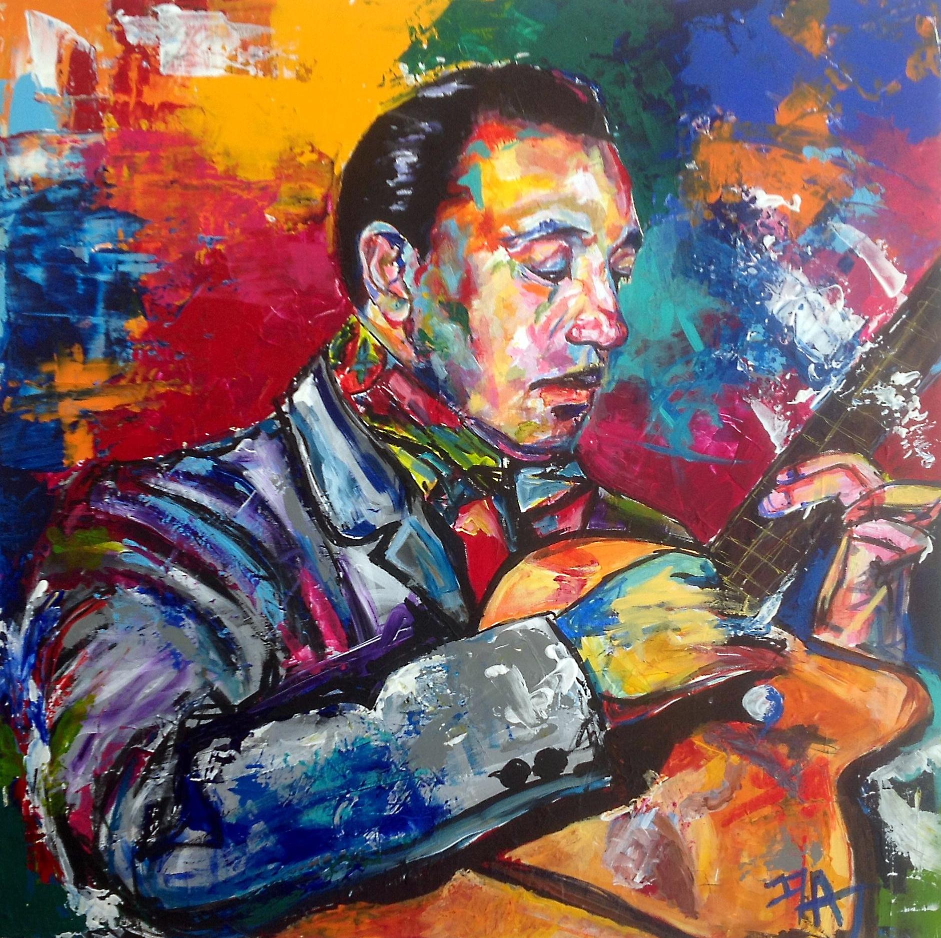 Iza, artiste peintre