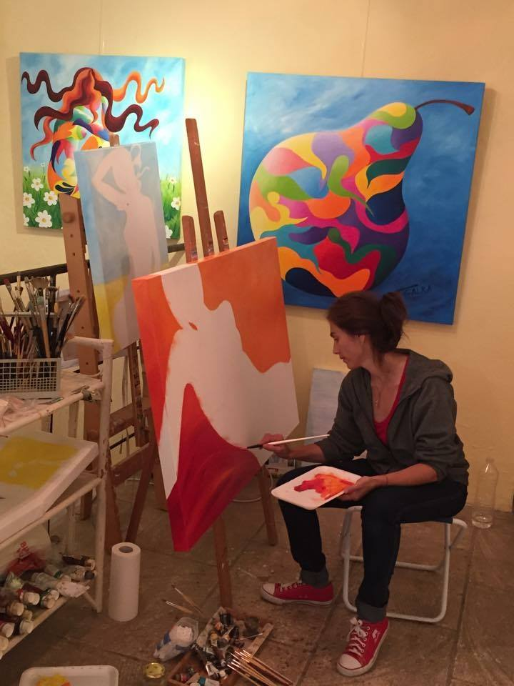 Galka, artiste peintre