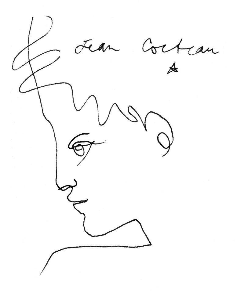 Drawing Lines In Muse : Jean cocteau