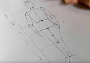 dessiner un corps humain