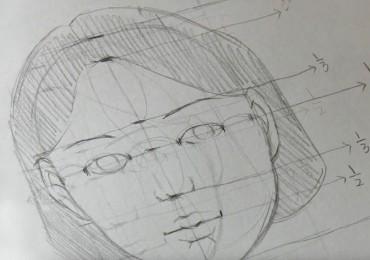 dessiner un visage