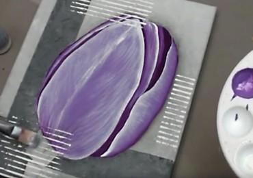 peindre une tulipe