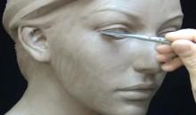 Sculpter une tête de femme